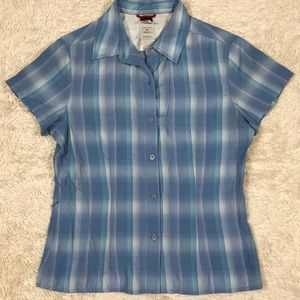 The North Face Button Down Modal Blend Small